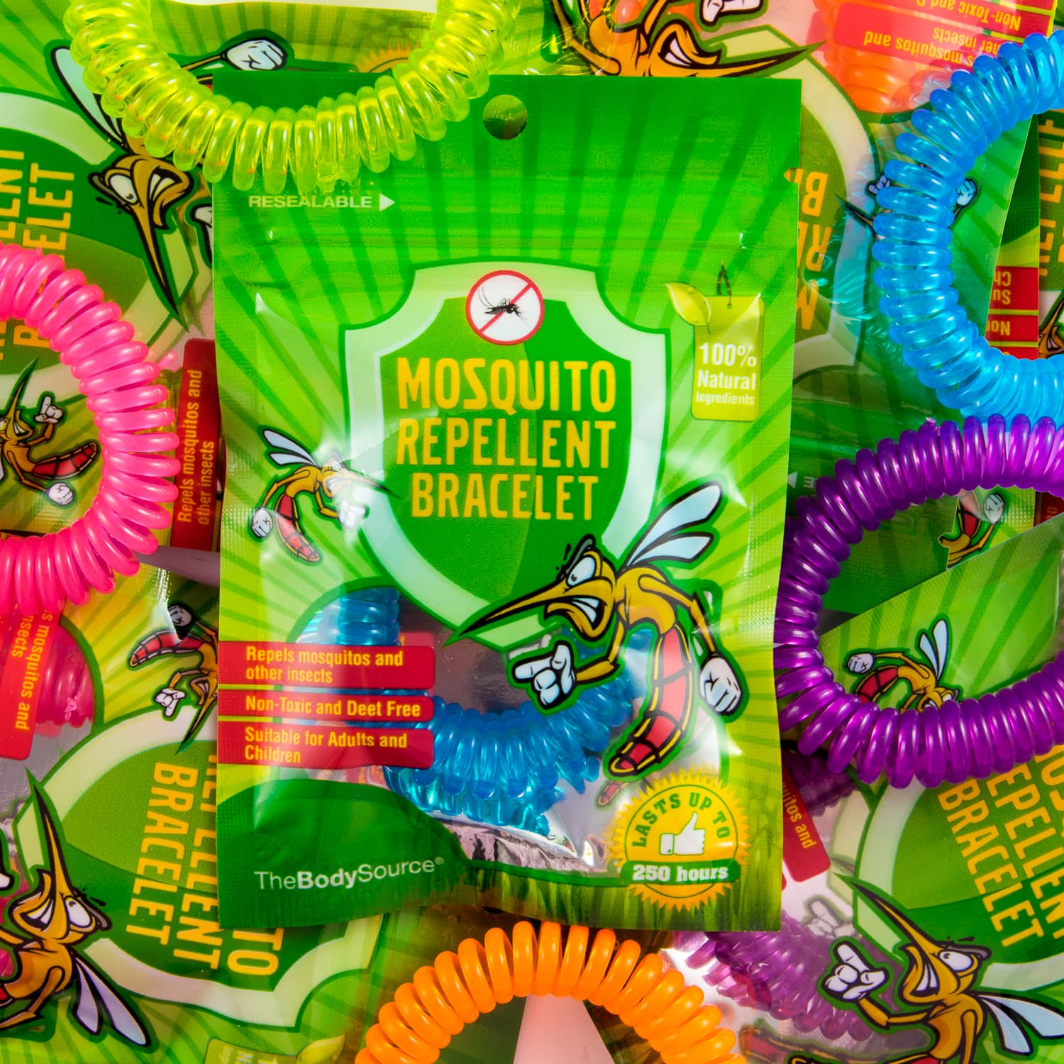 Mosquito Repellent Bracelets 10 Pack The Body Source
